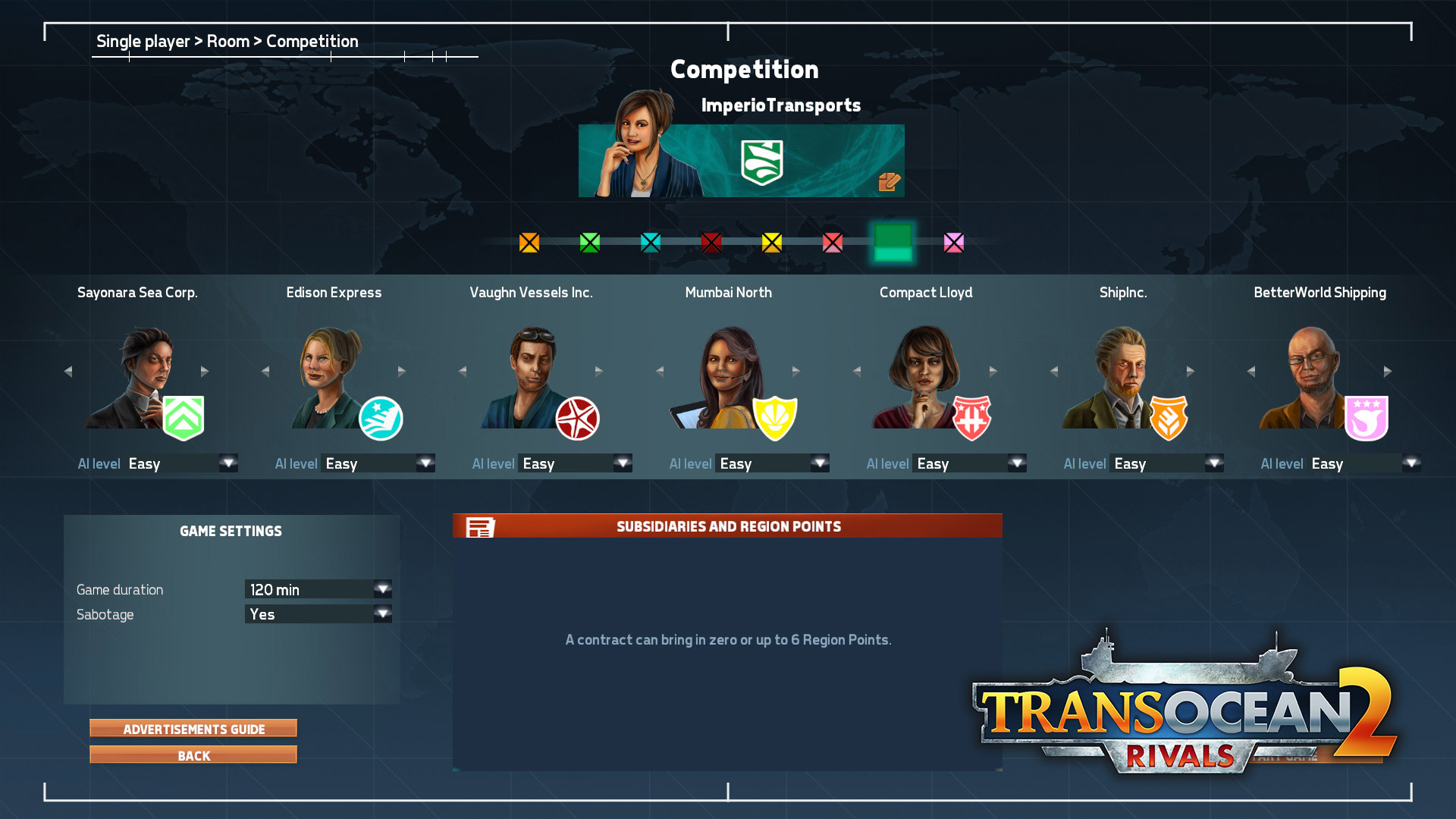 TransOcean 2: Rivals - Screenshot 02