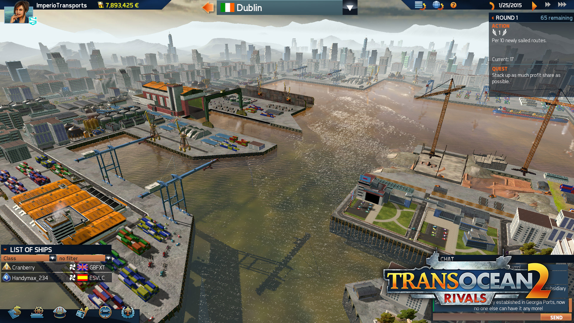 TransOcean 2: Rivals - Screenshot 05
